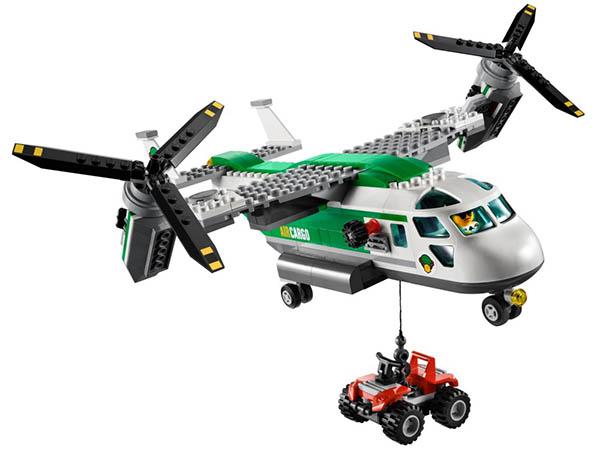 【lego乐高】货运直升机(l60021)-ㄚ德俐鼠(书立得)童