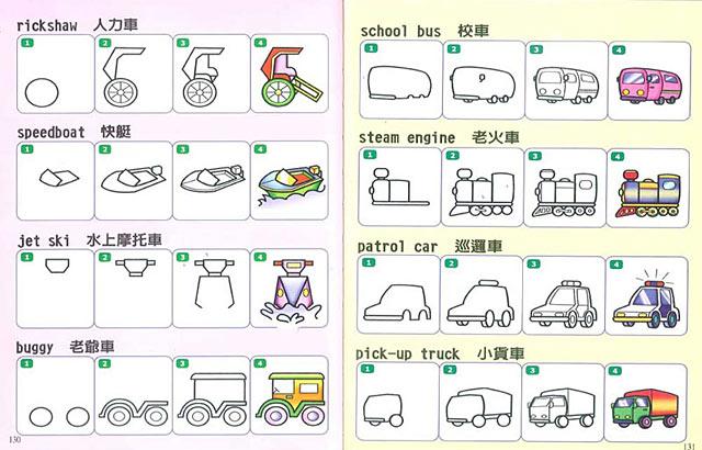 并附上简单的英文,让小朋友愉快的学画画,学英文,是一本最适合幼儿学