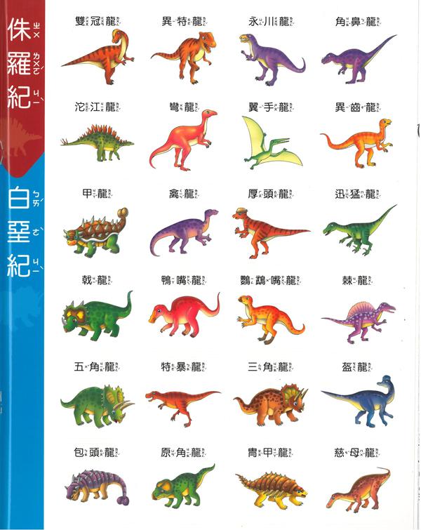 恐龙知识画册:三叠纪-ㄚ德俐鼠(书立得)童书