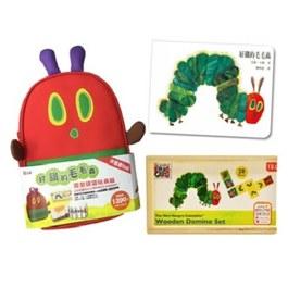 好餓的毛毛蟲造型提袋玩具組(n.22258)【玩具書】